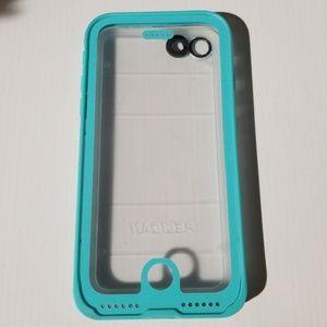 Pelican Marine Waterproof Teal Case for iPhone 7 8